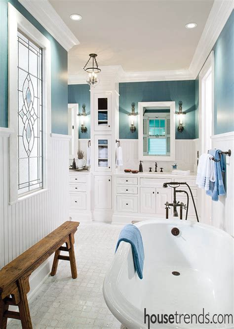 Calming Colors For Bathroom by Calming Colors Complement A Bathroom Design