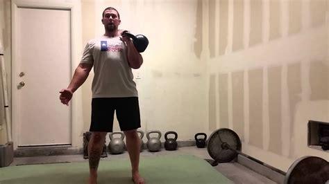 kettlebell rack hold personal trainer vegas las