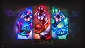 DJ Sona by Xael-Design on DeviantArt