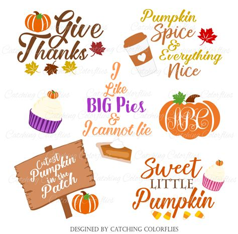 To use this design for commercial use, make sure to get one of our memberships! Thanksgiving and Autumn SVG Cuttables- Freebie Friday #8 ...