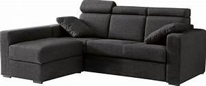 Canapé D Angle Convertible Confortable : canap d 39 angle modulable microfibre canap convertible d 39 angle mobilier et literie petit prix ~ Melissatoandfro.com Idées de Décoration