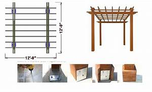 » Download Plans A Pergola With Roof PDF plans for