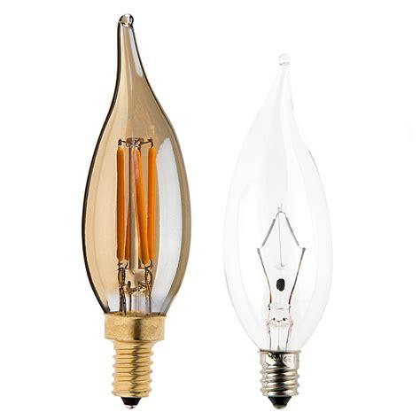 ca10 led filament bulb 25 watt equivalent candelabra led