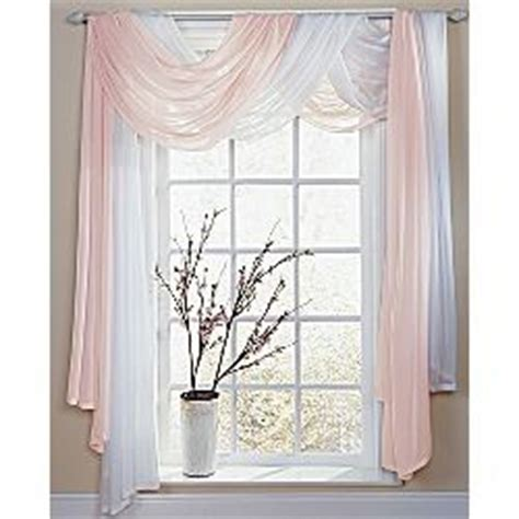 ways to hang sheer curtains sheer valance will add light
