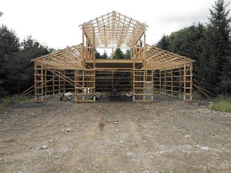 plans  build monitor pole barn kits  plans mini
