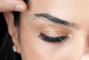 Depilación de cejas con hilo ¡Una técnica sin dolor!