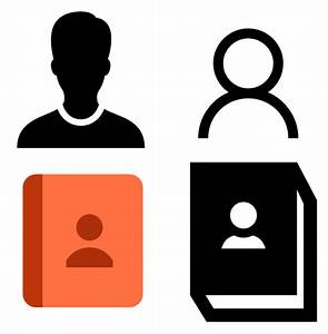 Contact Icon - free download, PNG and vector