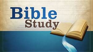 Activities and ... Bible Study