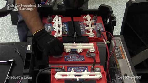 replace club car precedent batteries electric