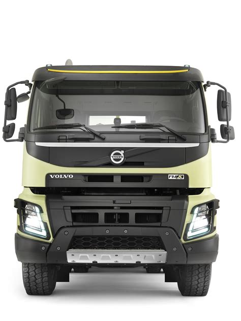 volvo fmx truck launched autoevolution