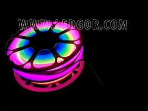 Chasing Dream color addressable RGB led neon flex rope PVC