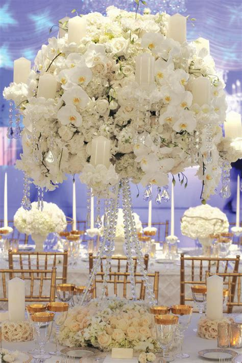Wedding Themes by A White And Gold Wedding Theme