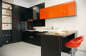 Beautiful black kitchen cabinets design ideas for What kind of paint to use on kitchen cabinets for sets de table papier