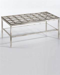 Coffee tables ideas silver and glass coffee table with for Cheap silver coffee table