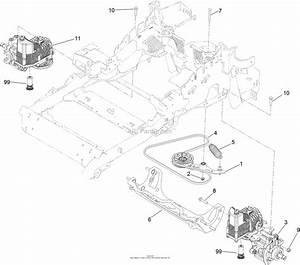 Exmark Hydraulic Drive Belt Diagram