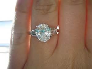 engagement ring stones three engagement rings pricescope