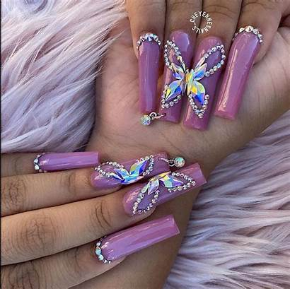 Acrylic Nail Nails Theglossychic Glossychic Simple Artificial