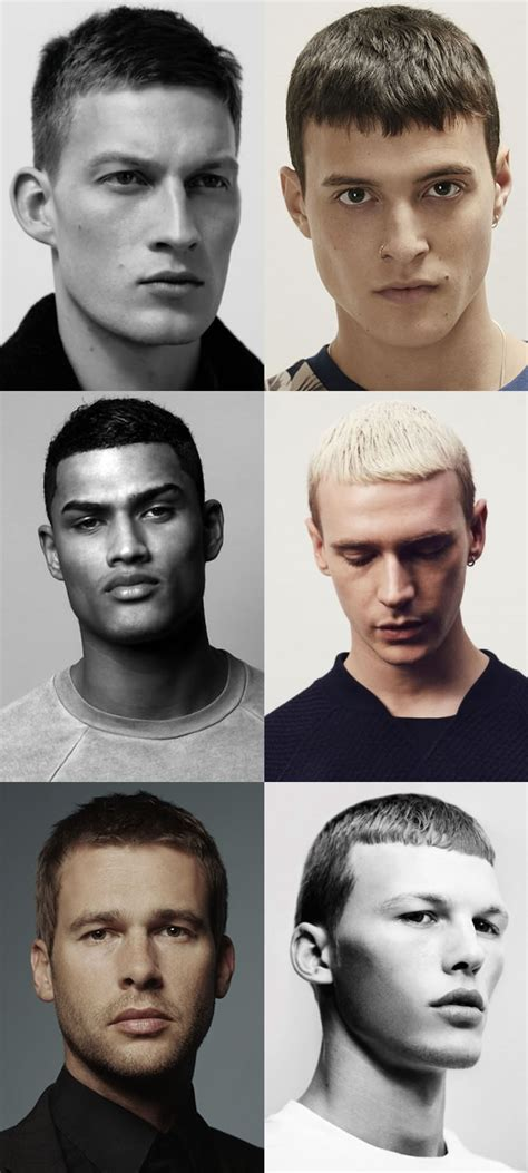 mens short   sides hairstyles