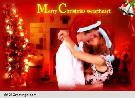 romantic christmas   merry christmas wishes ecards