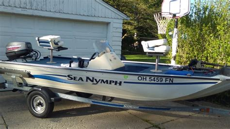 Sea Nymph Aluminum Jon Boats by 1998 Sea Nymph Lowe 16ft Tx160 Tournament Pro Aluminum