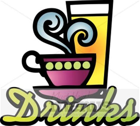 Drinks Sign   Beverage Clipart
