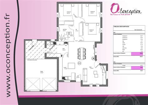maison 3 chambres plain pied plan maison plain pied en l avec garage