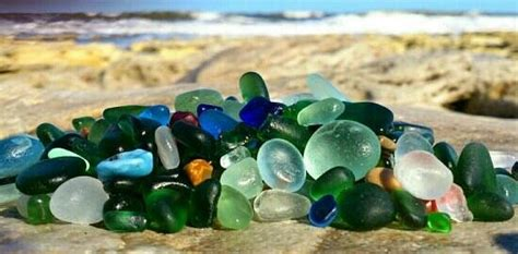 seaglass  seaham beach picture  east durham coast