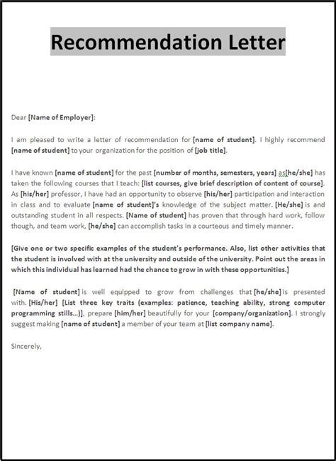 cover leter for gifted nursing recommendation letter sle client s letters