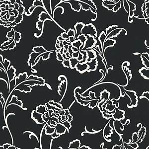 The Wallpaper Company 20.5 In. W Black and White Large ...