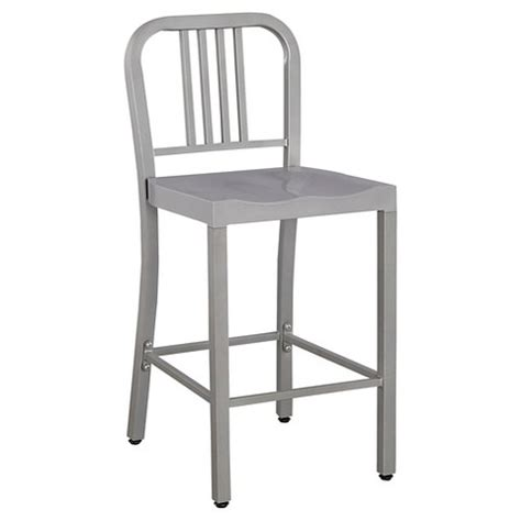 metal kitchen chairs target low back 24 quot counter stool metal silver ace bayou target