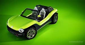 Volkswagen Id Buggy Is A Speck Of Green Beach Fun In Geneva