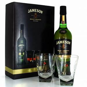 Coffret Verre Whisky : coffret jameson whiskey et 2 verres 40 70cl ~ Teatrodelosmanantiales.com Idées de Décoration