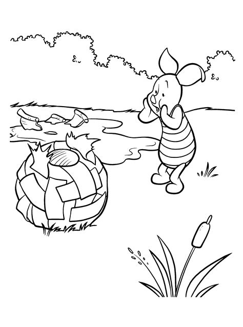 Free Coloring Pages Of Tiger And Winnie
