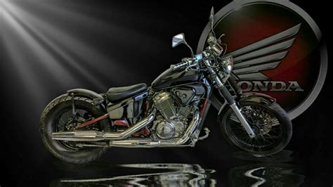 Honda Chopper Hd Wallpaper