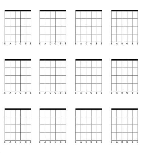 chord template pdf blank chord chart pdf printables and menu