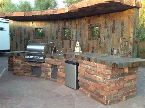 custom outdoor kitchens and bbq island design and install