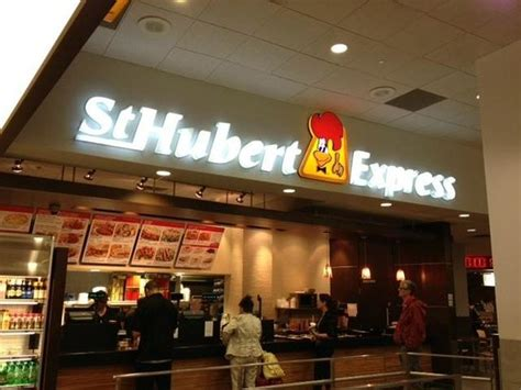cuisine st hubert chicken and fries picture of st hubert express dorval