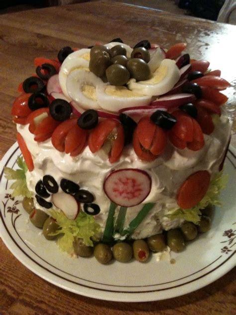 smorgastrata swedish sandwich cake layers  hawaiian