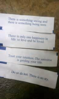 Fortune Cookie Sayings