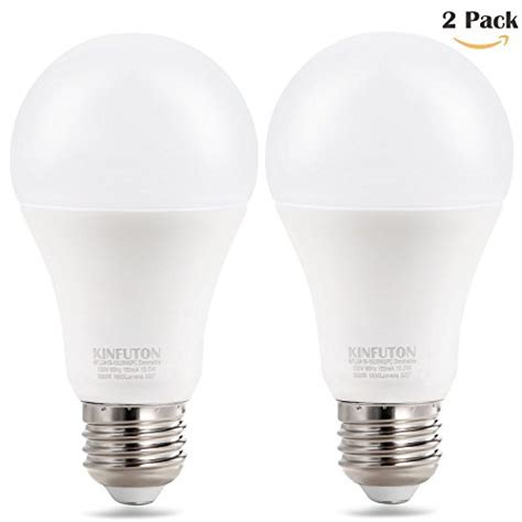 kinfuton a19 a21 15 5w led dimmable bulb 100w equivalent