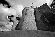 Black and White Tower Castle