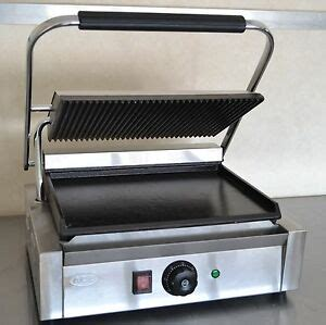 industrial sandwich toaster new commercial panini machine contact grill toaster