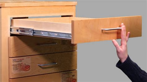 How To Choose The Right Cabinet Drawer Slide (video) Drawer Light Switch Labels Printable Sagging Fixers Next Drawers Bedroom House Germany Cash For Tablet Accessory Overbed Table Fruit Storage
