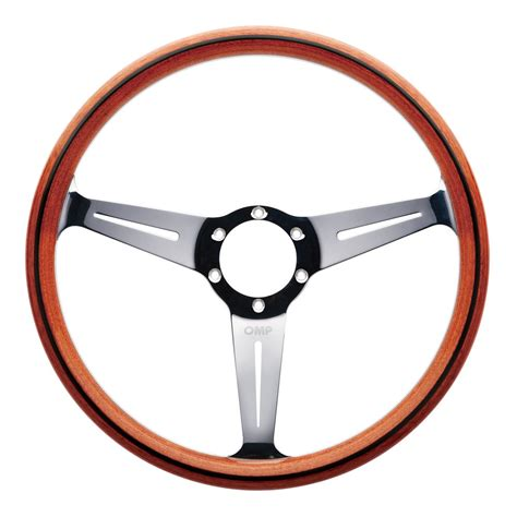 Steering Wheel by Mo Omp Monza Wooden Made Steering Wheel Classic Car