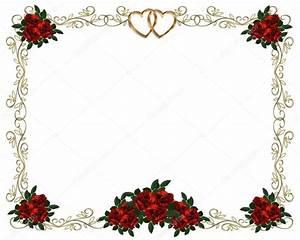 Red Roses Border invitation — Stock Photo © Irisangel #2158939