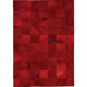tapis de luxe contemporain rouge starless par angelo With tapis contemporain rouge