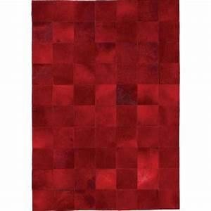 tapis de luxe contemporain rouge starless par angelo With tapis contemporain luxe