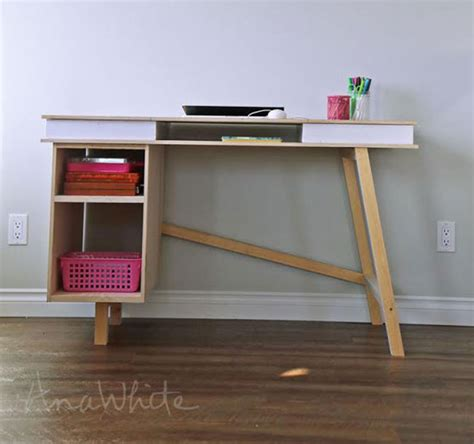 build your own desk plans ana white grasshopper base for build your own study desk