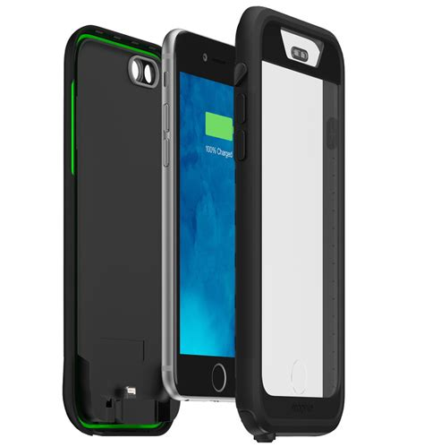 mophie for iphone 6 mophie juice pack h2pro 2750mah waterproof battery