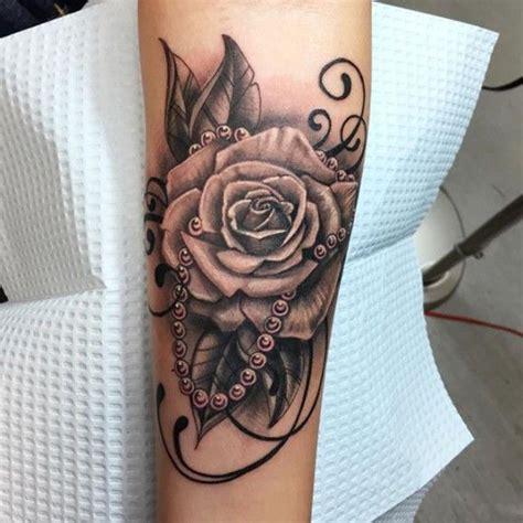 ideas  pearl tattoo  pinterest hip thigh